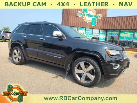2014 Jeep Grand Cherokee for sale at R & B Car Co in Warsaw IN