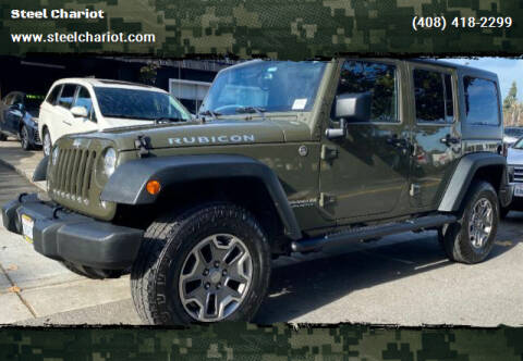 2015 Jeep Wrangler Unlimited for sale at Steel Chariot in San Jose CA
