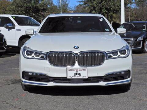 2017 BMW 7 Series for sale at Auto Finance of Raleigh in Raleigh NC