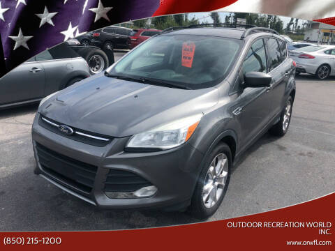 2013 Ford Escape for sale at Outdoor Recreation World Inc. in Panama City FL