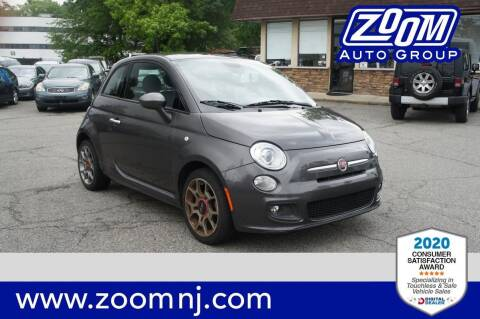 2015 FIAT 500 for sale at Zoom Auto Group in Parsippany NJ