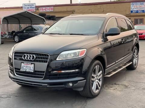 2008 Audi Q7 for sale at California Auto Deals in Sacramento CA