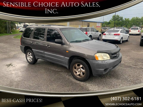2002 Mazda Tribute for sale at Sensible Choice Auto Sales, Inc. in Longwood FL