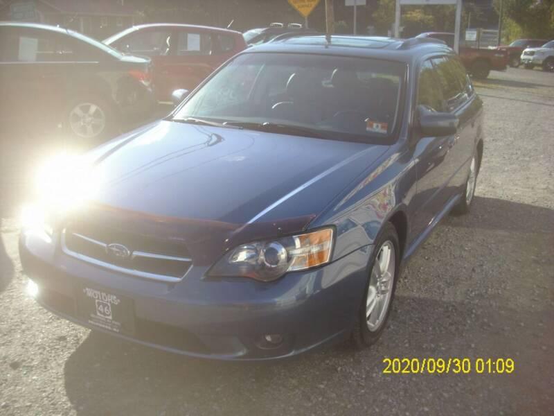 2005 Subaru Legacy for sale at Motors 46 in Belvidere NJ