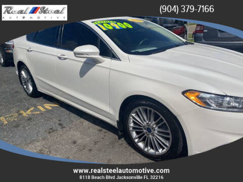 2016 Ford Fusion for sale at Real Steel Automotive in Jacksonville FL