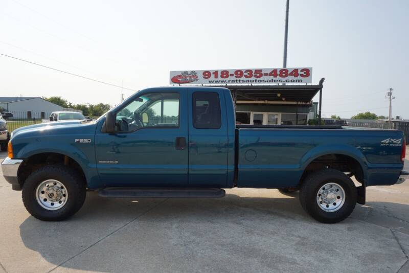 2001 Ford F-250 Super Duty for sale at Ratts Auto Sales in Collinsville OK