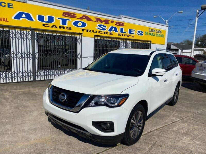 2018 Nissan Pathfinder for sale at Sam's Auto Sales in Houston TX