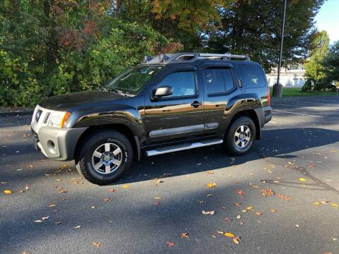 2012 Nissan Xterra for sale at Chris Auto South in Agawam MA