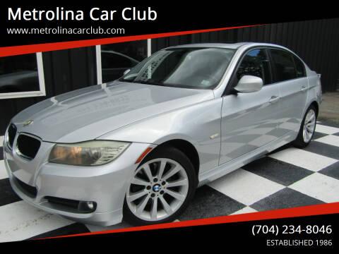 2009 BMW 3 Series for sale at Metrolina Car Club in Matthews NC