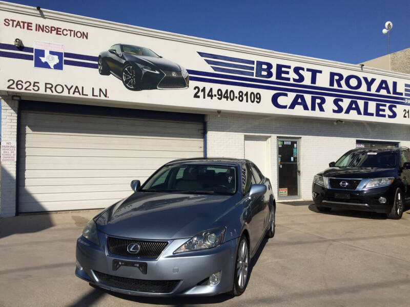 2007 Lexus IS 250 for sale at Best Royal Car Sales in Dallas TX
