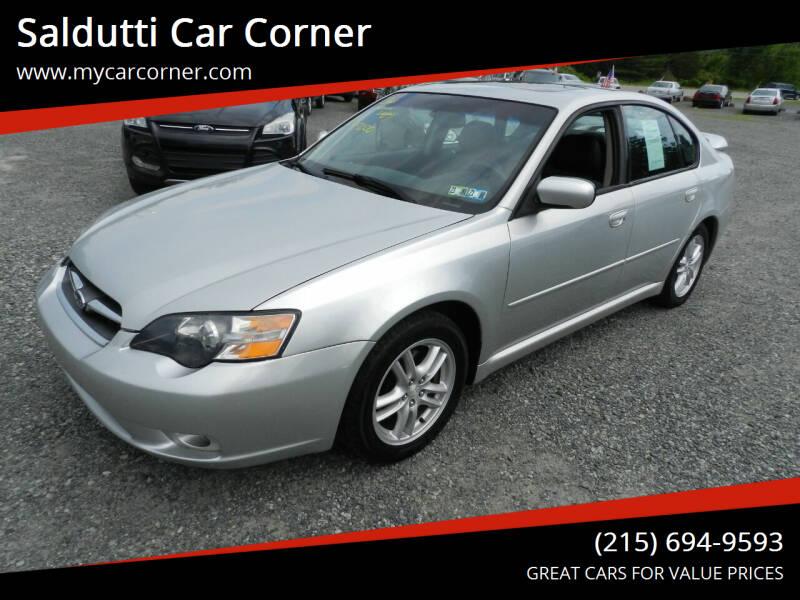 2005 Subaru Legacy for sale at Saldutti Car Corner in Gilbertsville PA