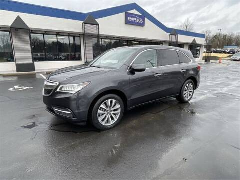 2016 Acura MDX for sale at Impex Auto Sales in Greensboro NC