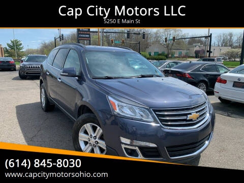 2013 Chevrolet Traverse for sale at Cap City Motors LLC in Columbus OH