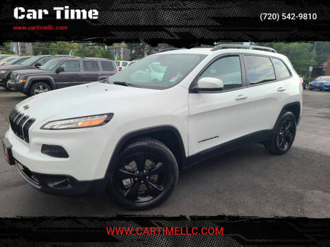 2017 Jeep Cherokee for sale at Car Time in Denver CO