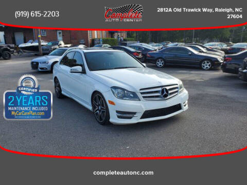 2013 Mercedes-Benz C-Class for sale at Complete Auto Center , Inc in Raleigh NC
