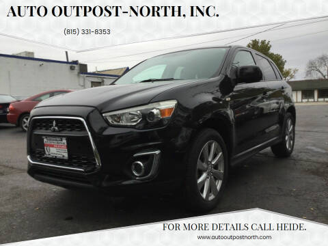 2013 Mitsubishi Outlander Sport for sale at Auto Outpost-North, Inc. in McHenry IL