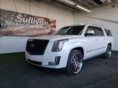 2017 Cadillac Escalade ESV for sale at SULLIVAN MOTOR COMPANY INC. in Mesa AZ
