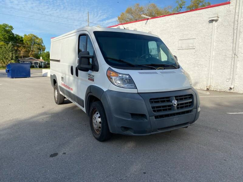 2015 RAM ProMaster Cargo for sale at LUXURY AUTO MALL in Tampa FL