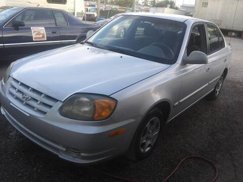 2004 Hyundai Accent for sale at Low Price Auto Sales LLC in Palm Harbor FL