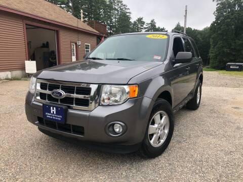2012 Ford Escape for sale at Hornes Auto Sales LLC in Epping NH