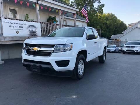 2016 Chevrolet Colorado for sale at Flash Ryd Auto Sales in Kansas City KS