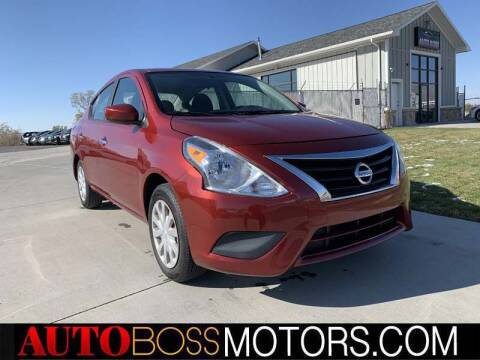 2016 Nissan Versa for sale at Auto Boss in Woodscross UT
