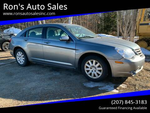 2007 Chrysler Sebring for sale at Ron's Auto Sales in Washington ME