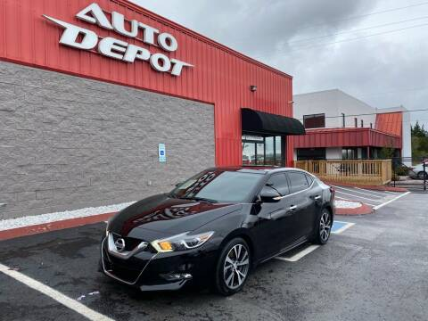2017 Nissan Maxima for sale at Auto Depot of Madison in Madison TN