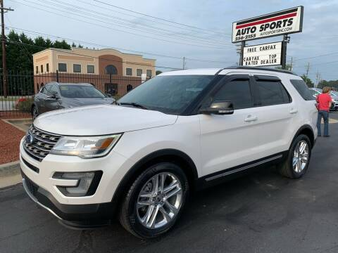 2017 Ford Explorer for sale at Auto Sports in Hickory NC