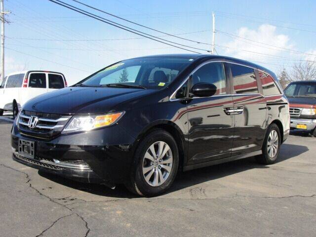 2015 Honda Odyssey for sale at Caesars Auto in Bergen NY