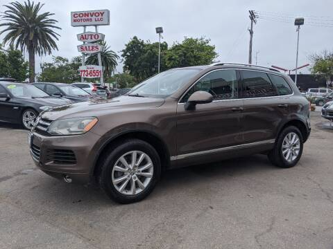 2013 Volkswagen Touareg for sale at Convoy Motors LLC in National City CA