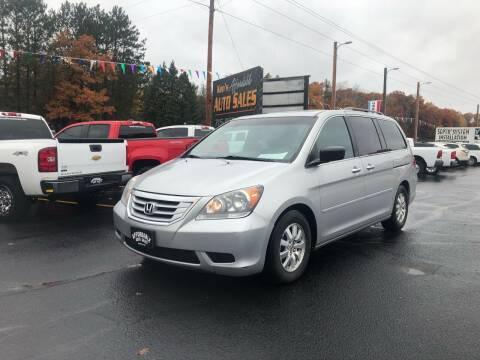 2010 Honda Odyssey for sale at Affordable Auto Sales in Webster WI