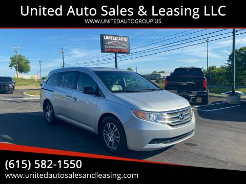 2011 Honda Odyssey for sale at United Auto Sales & Leasing LLC in La Vergne TN