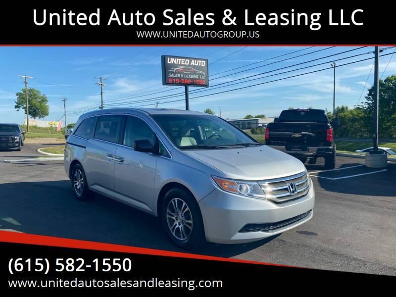 2011 Honda Odyssey for sale at United Auto Sales & Leasing LLC in La Vergne TN