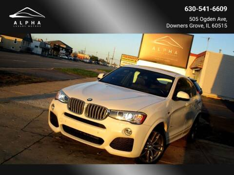 2016 BMW X4 for sale at Alpha Luxury Motors in Downers Grove IL