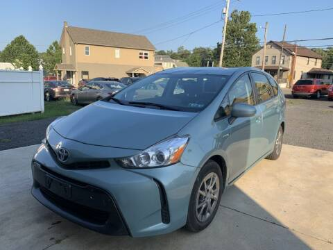 2015 Toyota Prius v for sale at VINNY AUTO SALE in Duryea PA