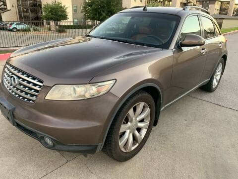 2003 Infiniti FX35 for sale at Zoom ATX in Austin TX