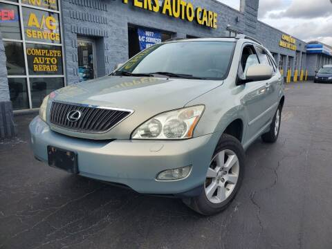 2007 Lexus RX 350 for sale at CHIPPERS LUXURY AUTO, INC in Shorewood IL