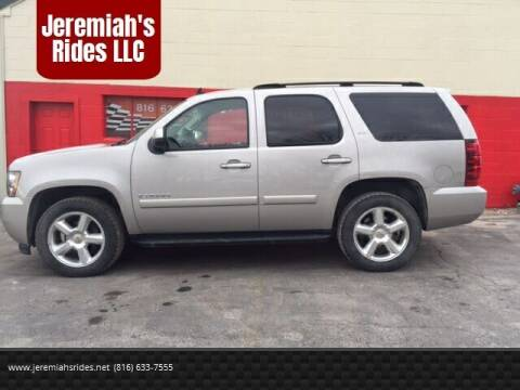2007 Chevrolet Tahoe for sale at Jeremiah's Rides LLC in Odessa MO
