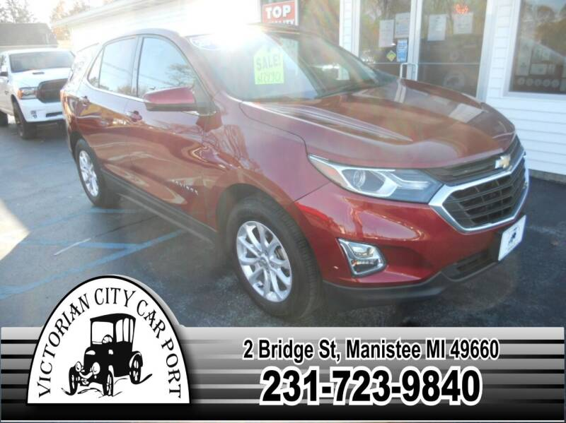 2018 Chevrolet Equinox for sale at Victorian City Car Port INC in Manistee MI