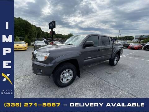 2013 Toyota Tacoma for sale at Impex Auto Sales in Greensboro NC