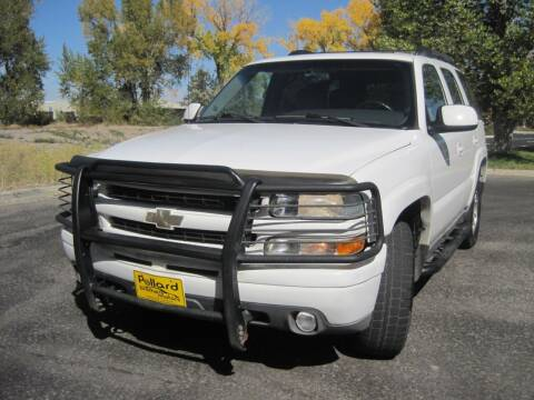 2003 Chevrolet Tahoe for sale at Pollard Brothers Motors in Montrose CO