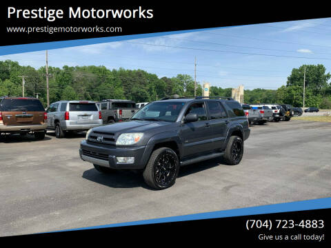 2004 Toyota 4Runner for sale at Prestige Motorworks in Concord NC