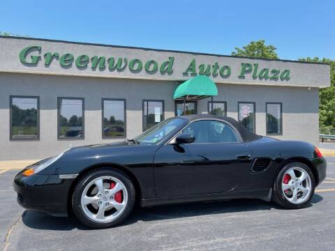 2001 Porsche Boxster for sale at Greenwood Auto Plaza in Greenwood MO