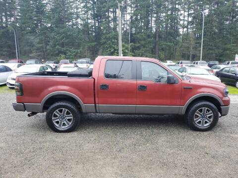 2007 Ford F-150 for sale at WILSON MOTORS in Spanaway WA