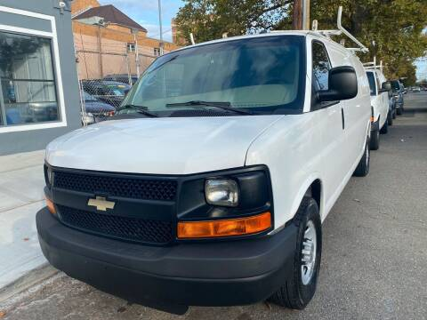 2014 Chevrolet Express Cargo for sale at DEALS ON WHEELS in Newark NJ