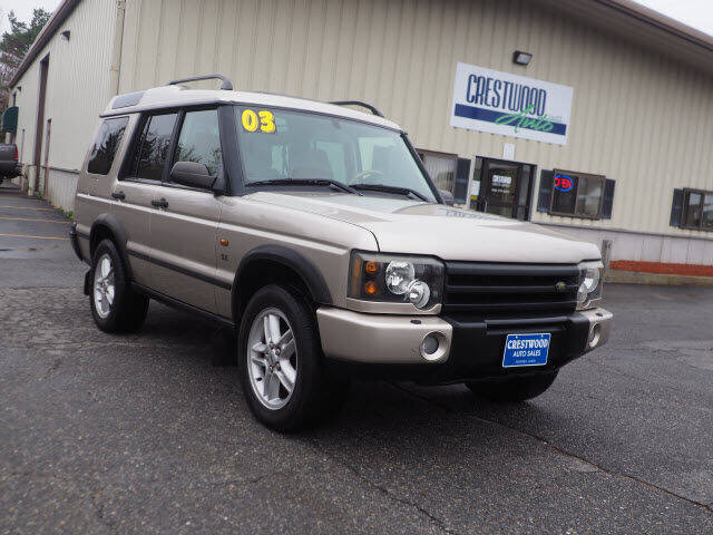 2003 Land Rover Discovery for sale at Crestwood Auto Sales in Swansea MA