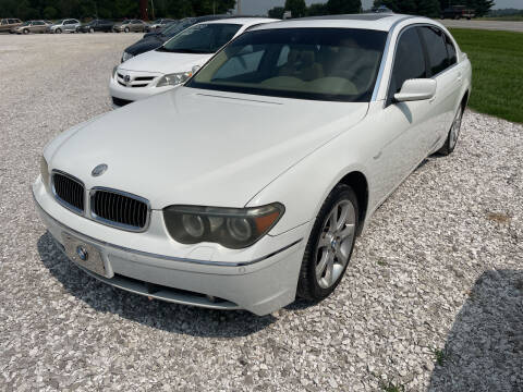 2004 BMW 7 Series for sale at Champion Motorcars in Springdale AR