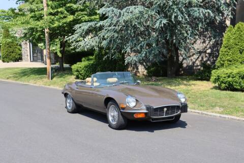 1974 Jaguar XKE Series III V12 Roadster for sale at Gullwing Motor Cars Inc in Astoria NY
