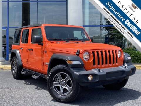2018 Jeep Wrangler Unlimited for sale at Southern Auto Solutions - Capital Cadillac in Marietta GA